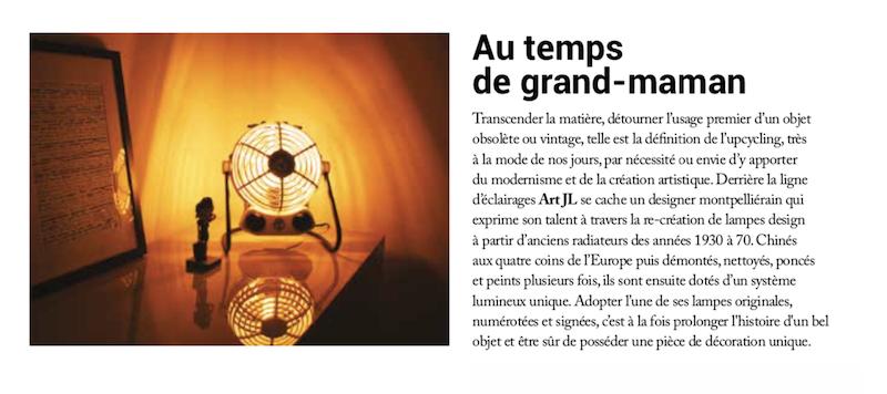 Mag in France artjl design lamp made in France