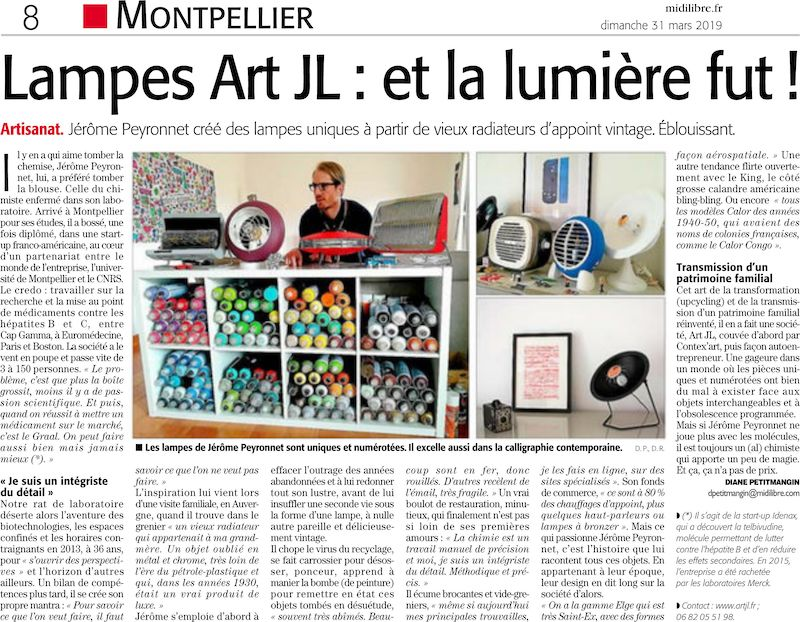 article Midi Libre artjl
