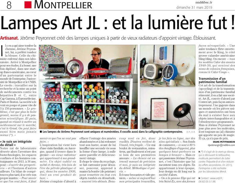 article Midi Libre artjl