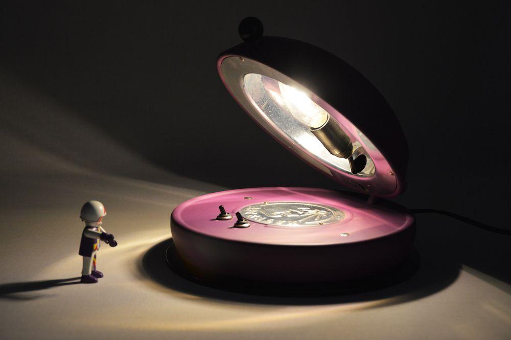 Lampe Astralux design vintage 2