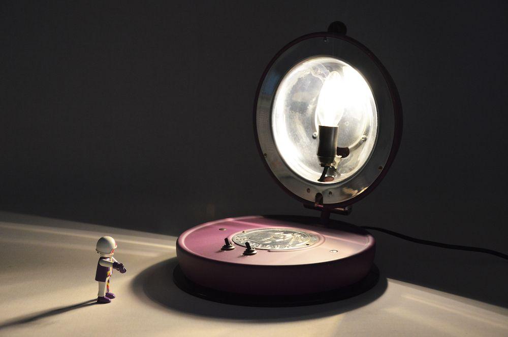 Lampe Astralux design vintage 8