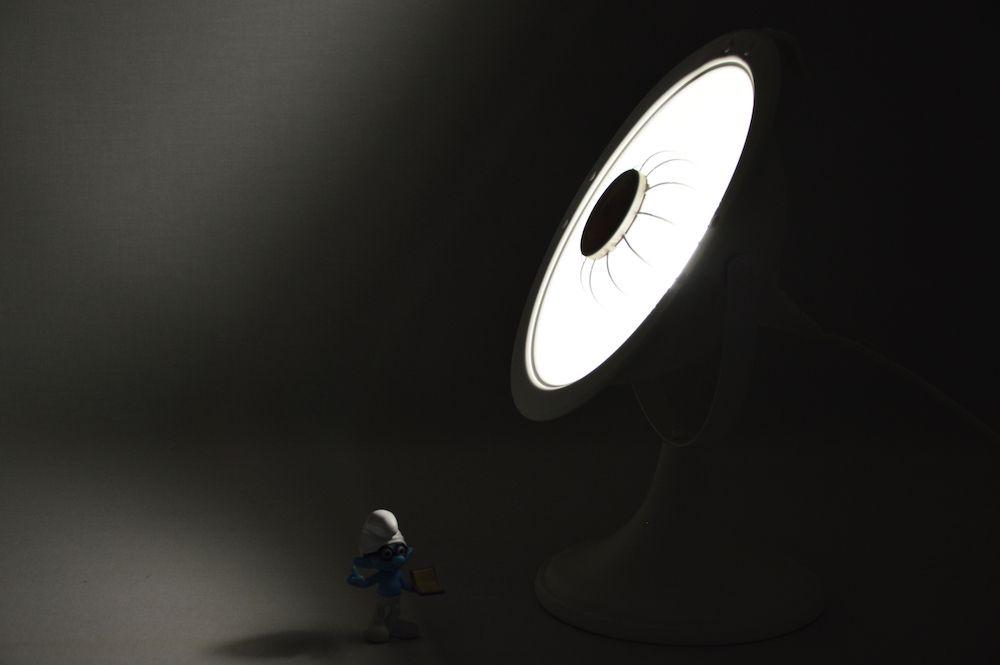 Lampe Calor Parabole blanche