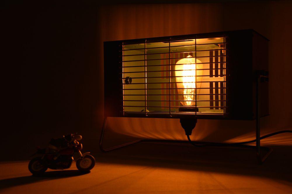 Lampe Moulinex Edison vintage design upcycling 2