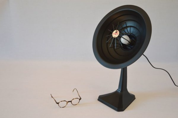 Lampe Thermor Parabole Black 2