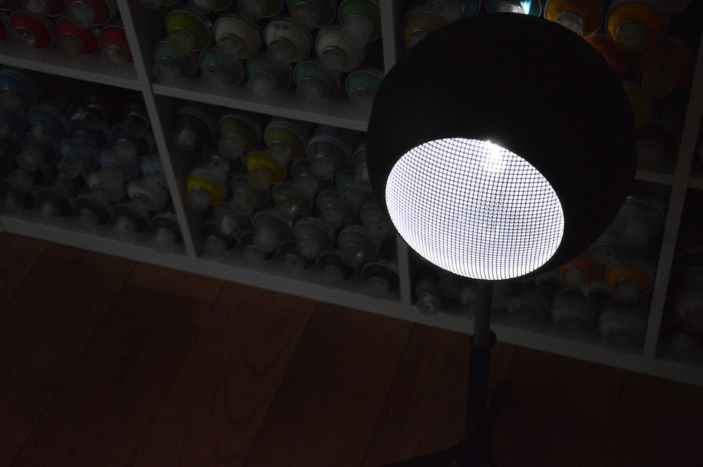 Lampe design Bouyer ronde 3