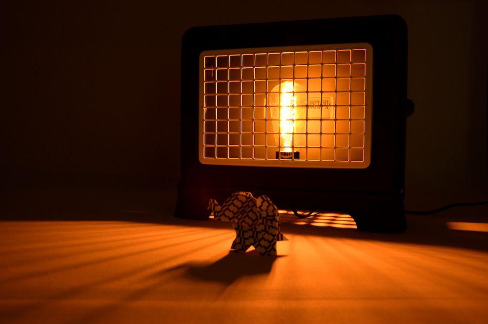 Lampe Furniculus Edison vintage industrielle 1