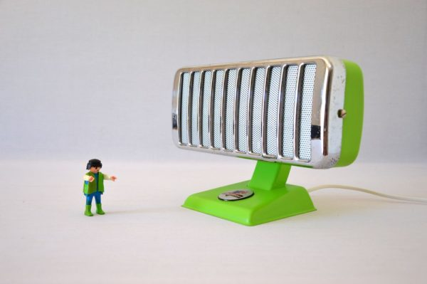 Lampe petit thermor vert pomme 1