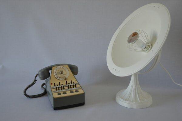 Lampe Big Parabole Calor design vintage upcycling 1