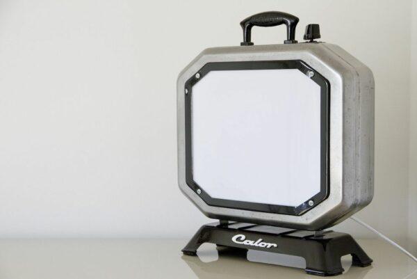 Lampe Calor Negatoscope design vintage upcycling 3