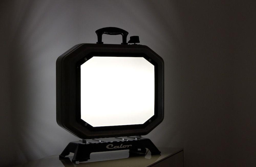 Lampe Calor Negatoscope design vintage upcycling