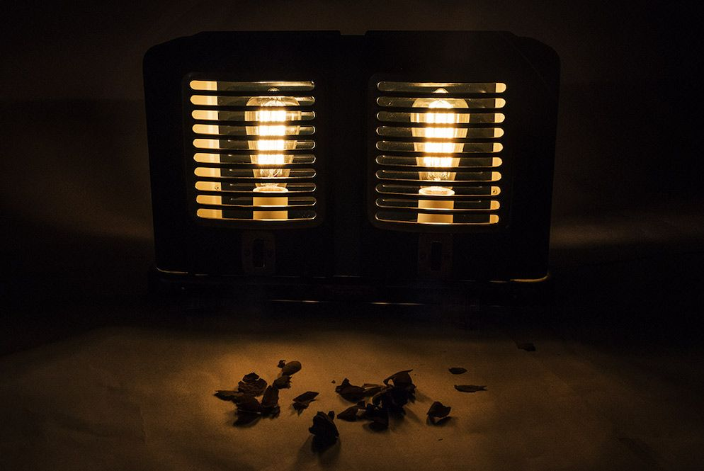 Lampe Thermor custom Arkane ArtJL 7