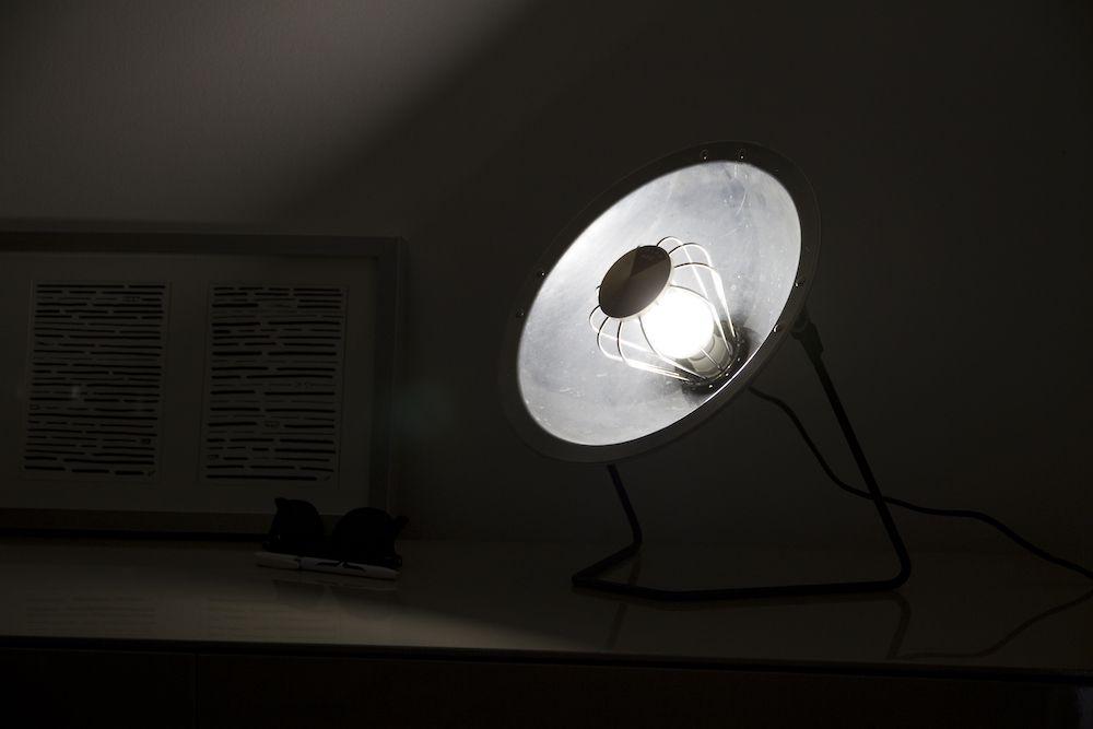 Lampe Parabole Calor Alu 4