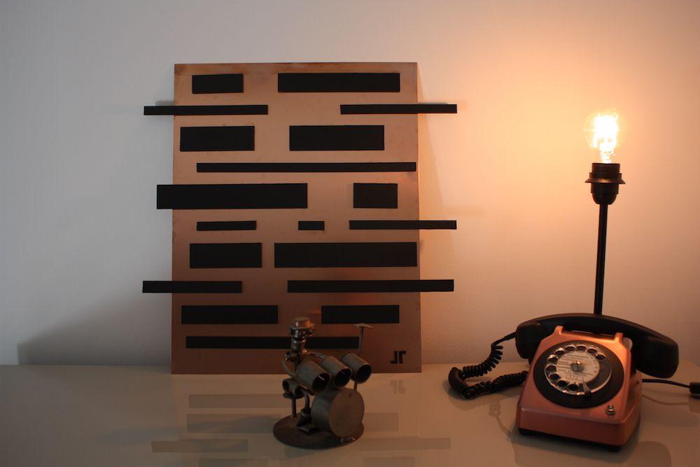 Lampe telephone socotel design vintage 8