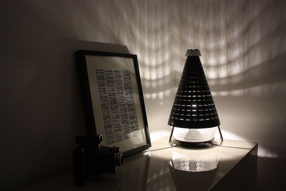 Lampe Tornado design vintage 8