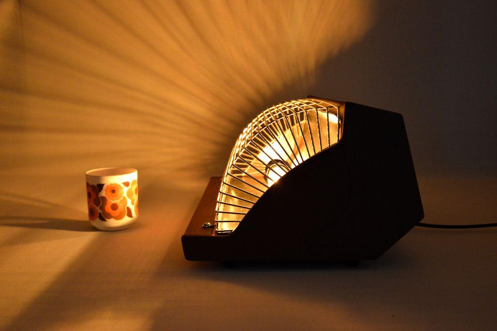 Lampe design chocolat double edison 2