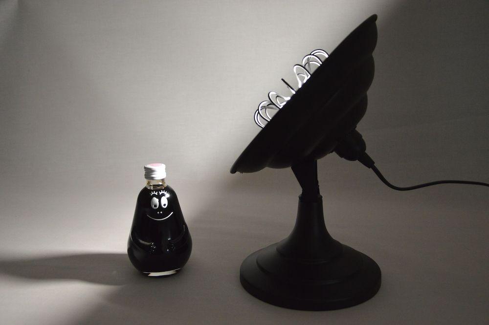 Lampe design vintage Artaud upcycling 3
