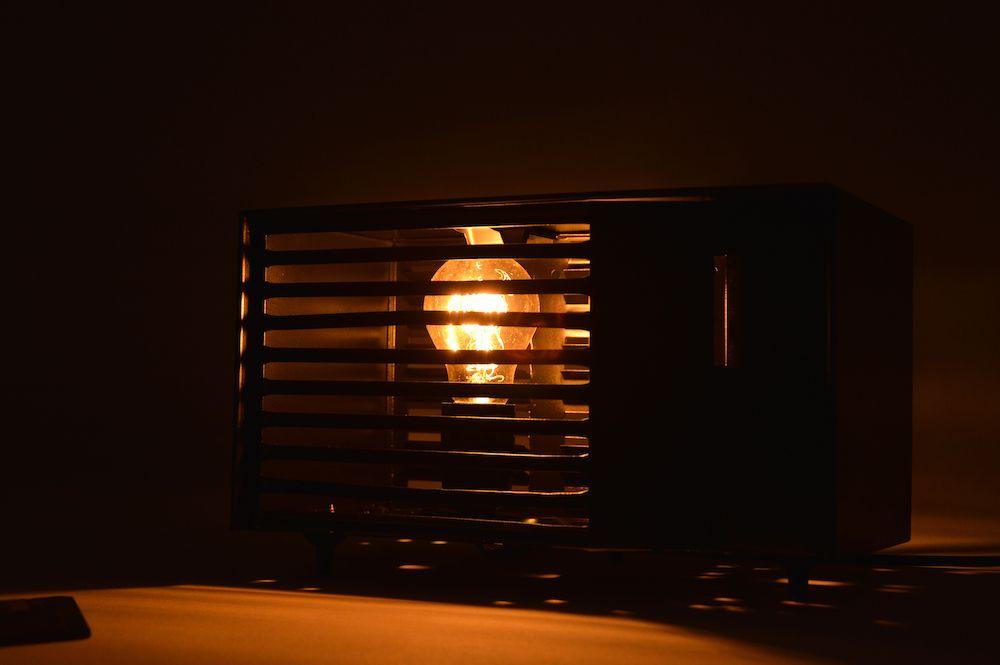 Lampe Calor Rectangle Edison Black 4