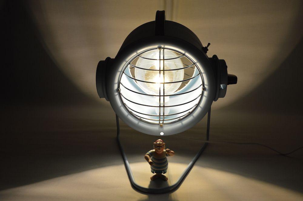 Lampe lampe artjl design vintage upcycling