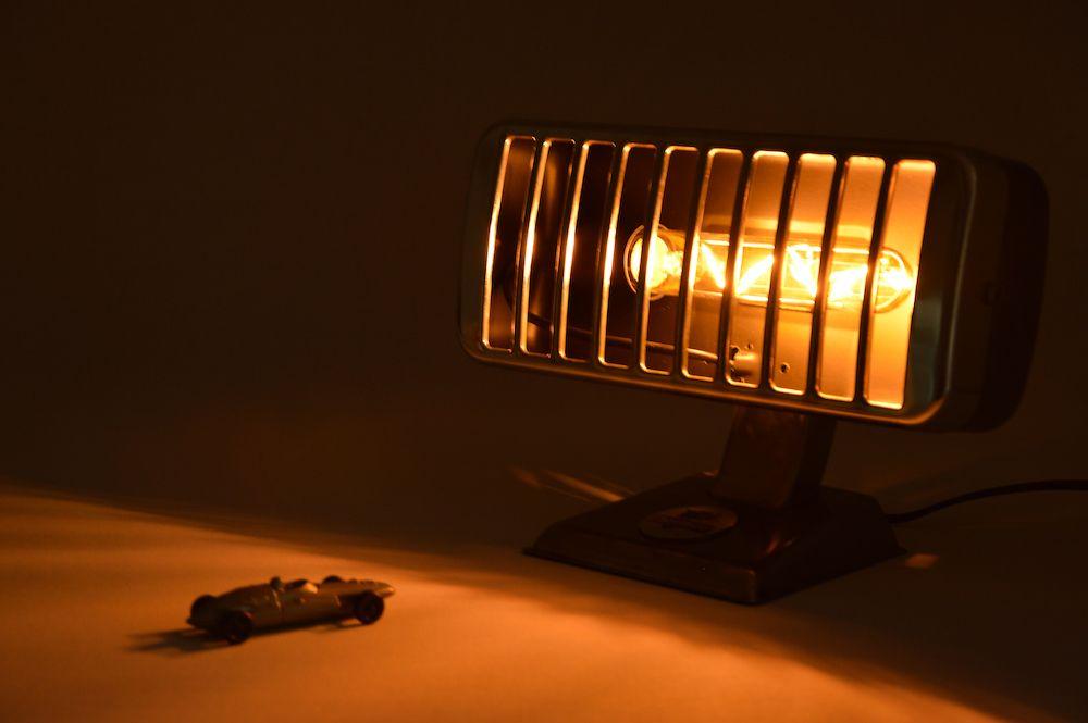 Lampe Petit Thermor Alu Brossé 2