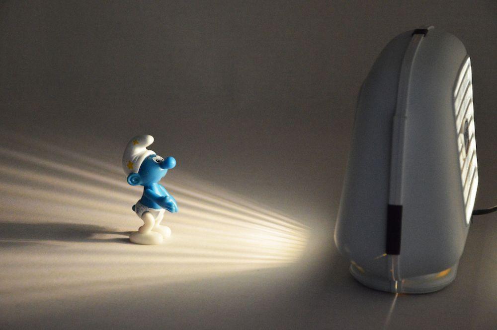 Lampe bleue HP Siare 2