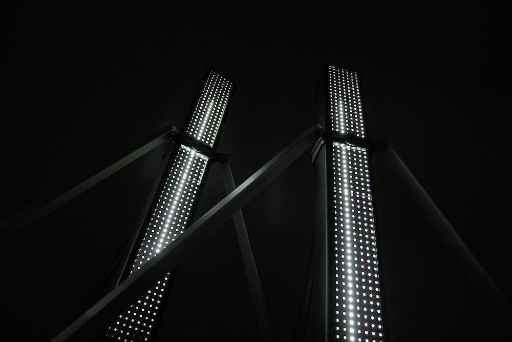 Lampe design Bouyer télescopique 3