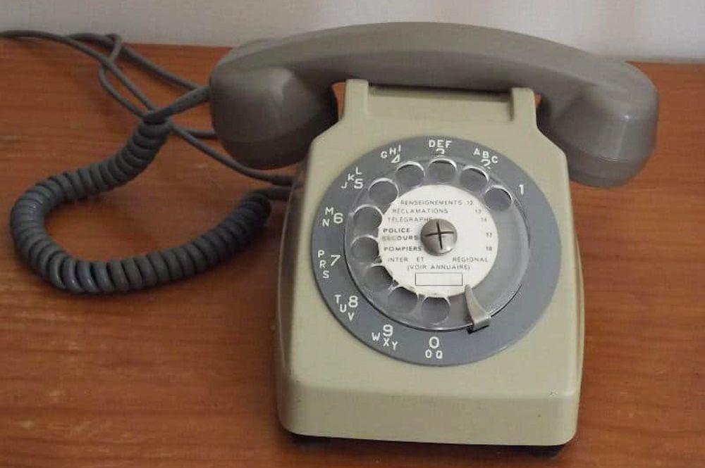 Telephone Socotel avant