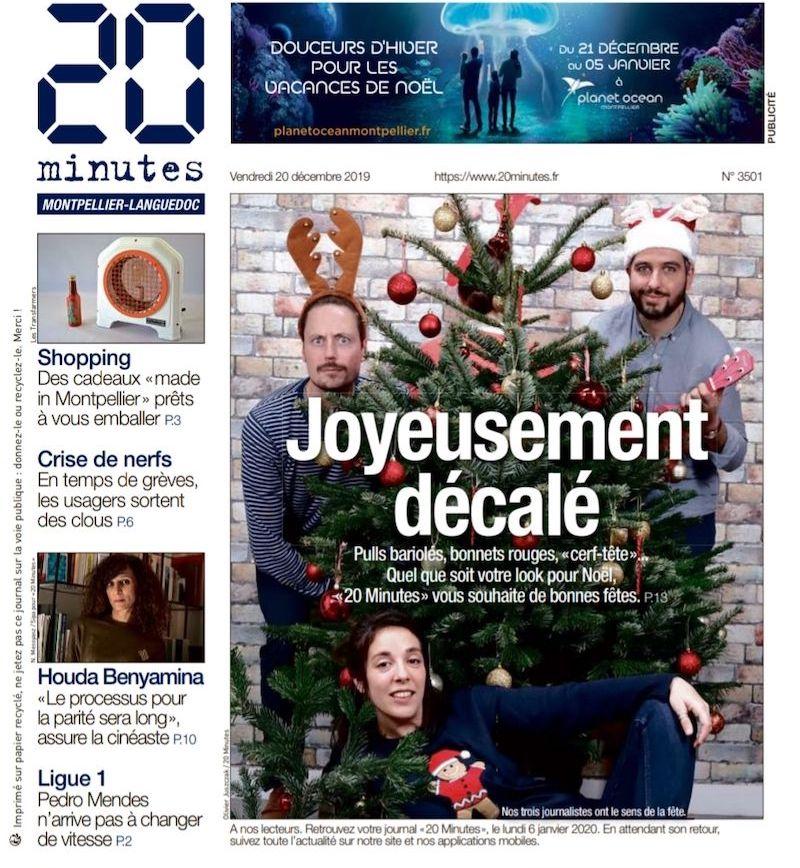 20 Minutes Montpellier Christmas gift ideas original design lamp ArtJL design