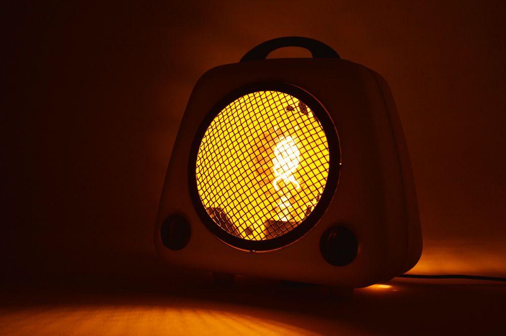 lampe de bureau Krefft jaune 1